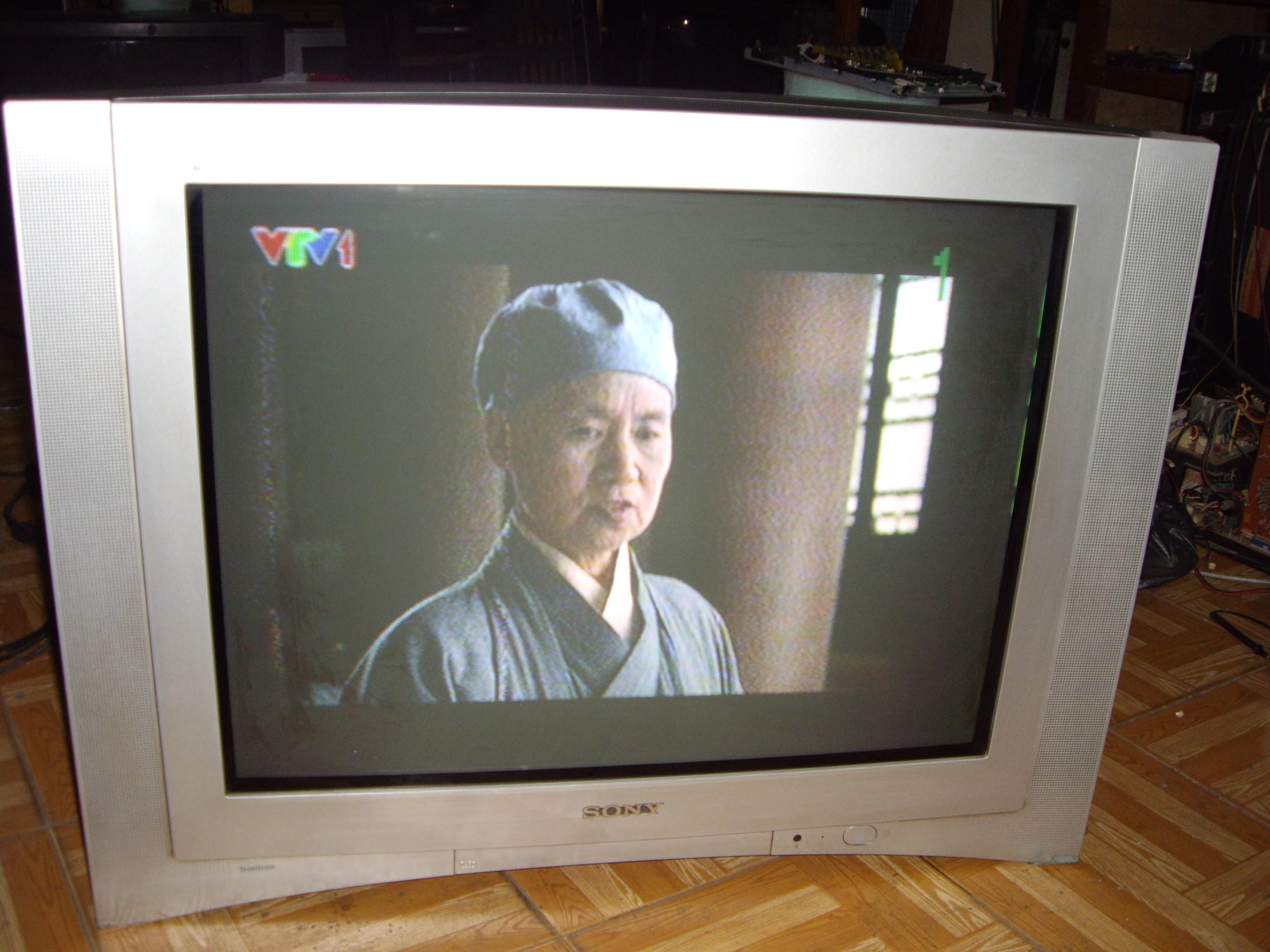 3 Thanh lý tv 25icnh 29inch siêu phẳng crt 500k 1 tv