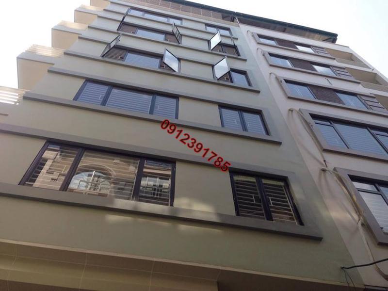 9 Cho thuê chung cư thang máy đủ đồ phố Đê La Thành Hào Nam