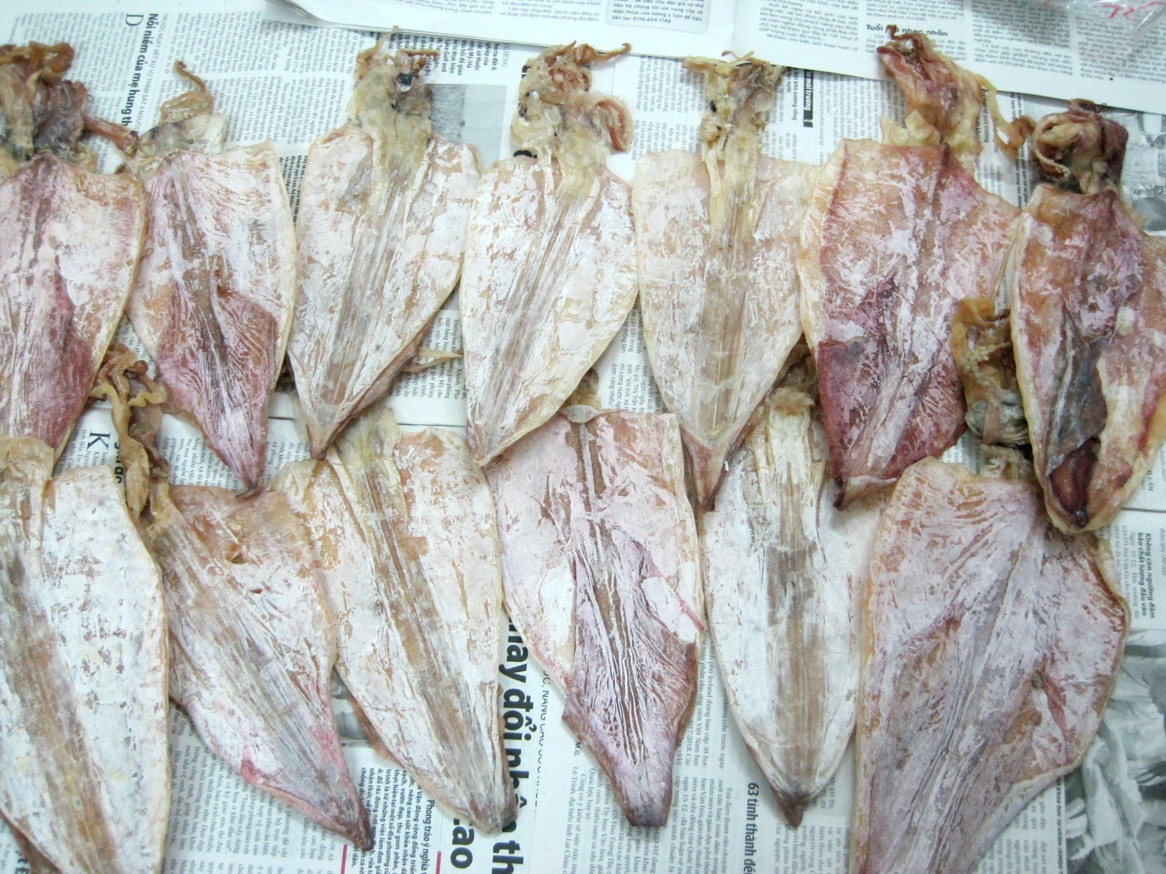 16 Mực khô Quảng Ninh loại đặc biệt, Trâu gác bếp đặc sản của Sơn La: cực ngon, giá siêu rẻ, chỉ bán lẻ