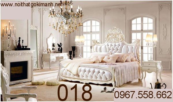 2 Giường cổ điển - giường ngủ tân cổ điển q1 q2 q7 q9