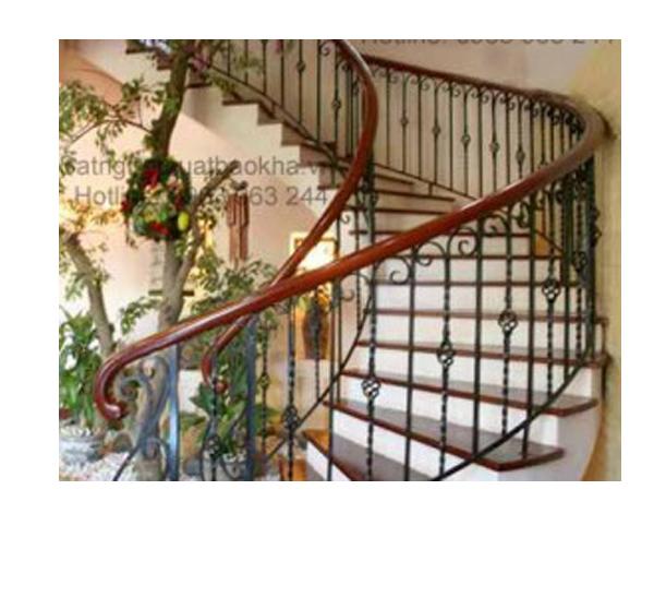 4 Cầu thang sắt đẹp tại hà nội