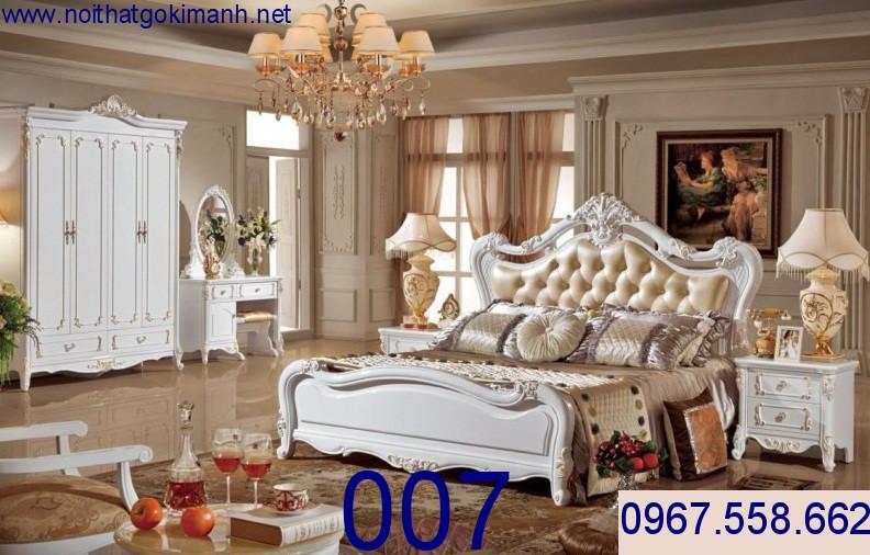 14 Giường ngủ tân cổ điển giá rẻ