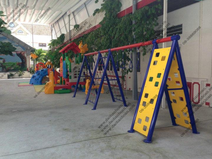 1 Nhà banh cho bé-Thiết bị mầm non-Khu vui chơi trẻ em