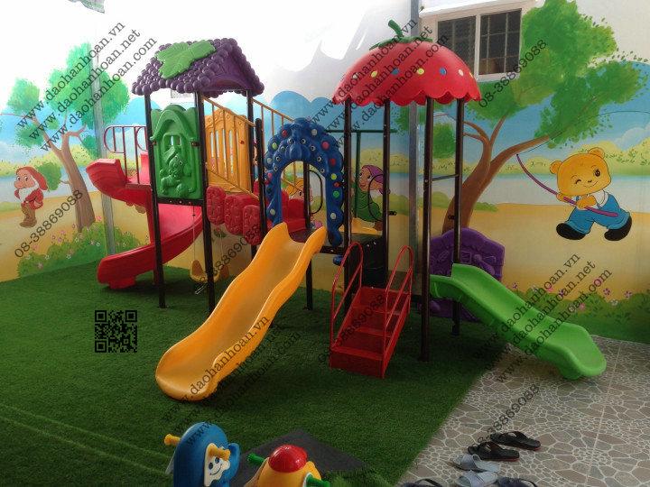 4 Nhà banh cho bé-Thiết bị mầm non-Khu vui chơi trẻ em