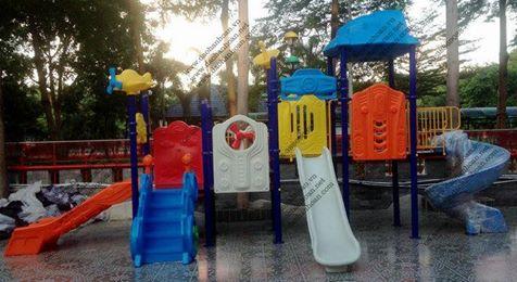 7 Nhà banh cho bé-Thiết bị mầm non-Khu vui chơi trẻ em
