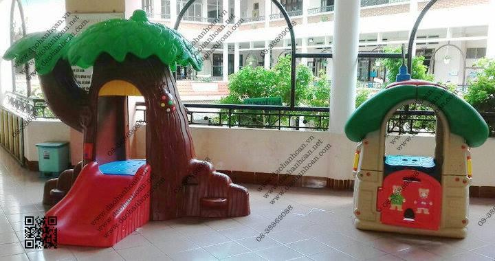 9 Nhà banh cho bé-Thiết bị mầm non-Khu vui chơi trẻ em