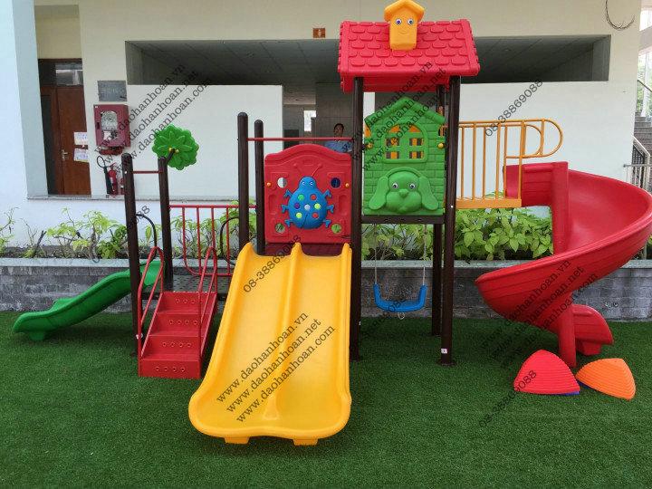 19 Nhà banh cho bé-Thiết bị mầm non-Khu vui chơi trẻ em