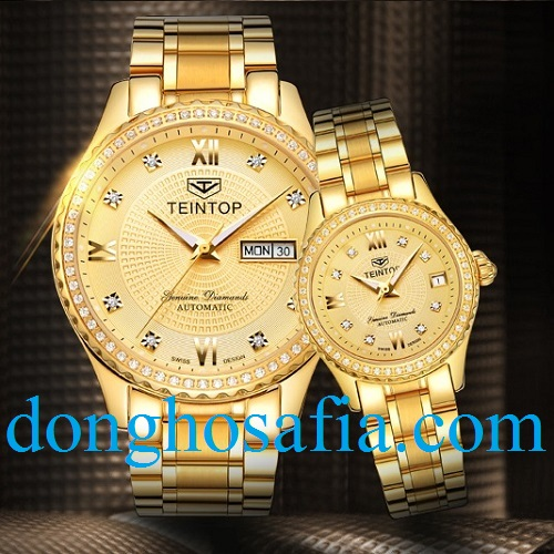 15 Đồng hồ đôi cơ TeinTop 8629 TT201