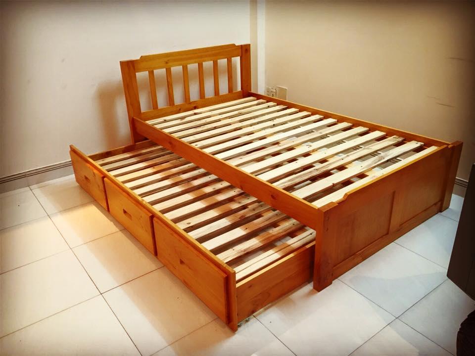 1 Bán giường tầng, giường hộp 2 tầng trẻ em ở quận Tân Phú tphcm