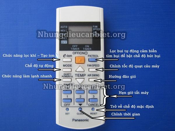 6 Bán Remote Máy Lạnh Panasonic Tại Tp hcm