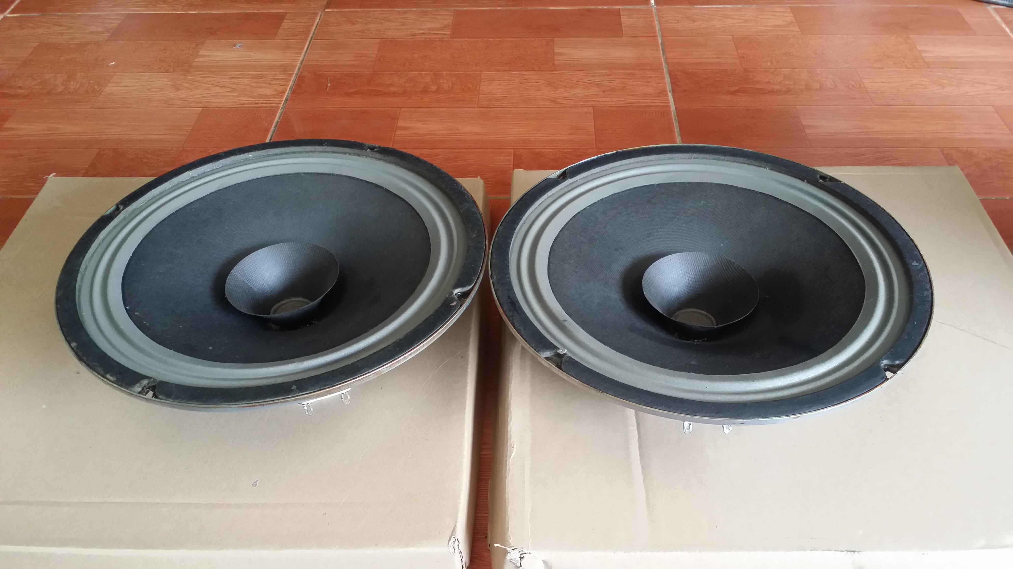 1 Loa toàn dải bass 25cm ampli magnavox streo 500 của hãng Philips giá 9tr