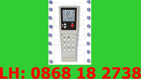 7 Bán Remote Máy Lạnh, Điều Khiển Máy Lạnh Tại Biên Hòa