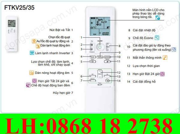 17 Bán Remote Máy Lạnh, Điều Khiển Máy Lạnh Tại Biên Hòa