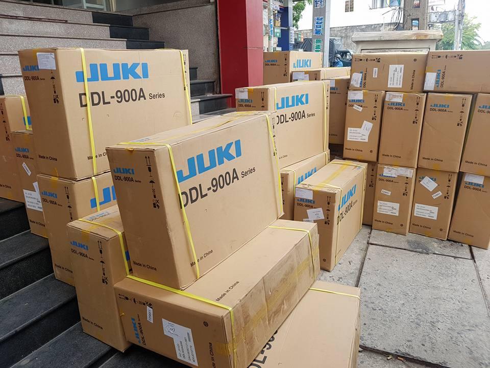 8 Máy may 1 kim điện tử JUKI DDL 900AS Phân phối Máy may Hoàng Khang