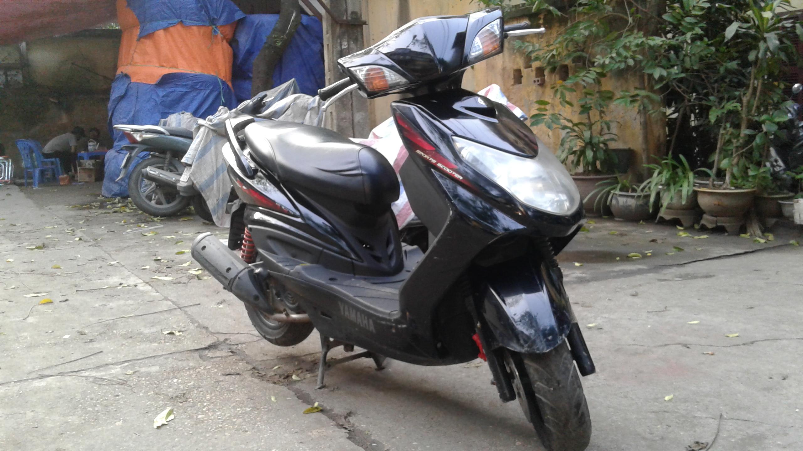 Bán Xe Yamaha Cygnus Z điên tử nhập khẩu biển HN, đủ giấy tờ, Xe Máy nguyên bản1.