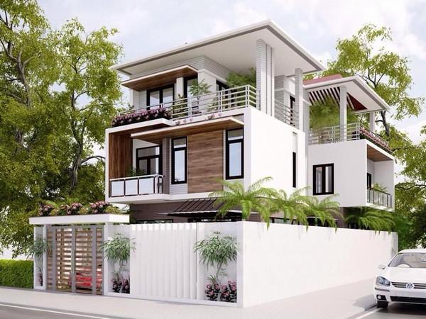 6 Thiết kế biệt thự giá rẻ tại Hà Nội, Thiết kế nhà biệt thự tại Hà Nội