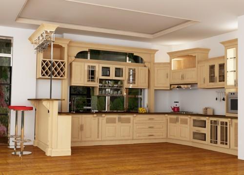 Ưu nhược điểm của từng loại gỗ dùng để làm tủ bếp ?