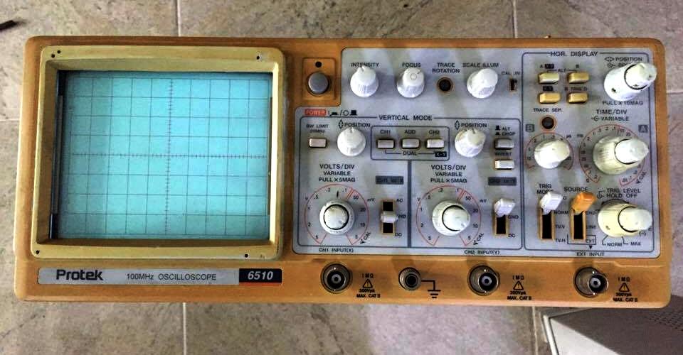 3 Oscilloscope seconhand 40mhz , 100mhz còn xử dụng tốt có bảo hành