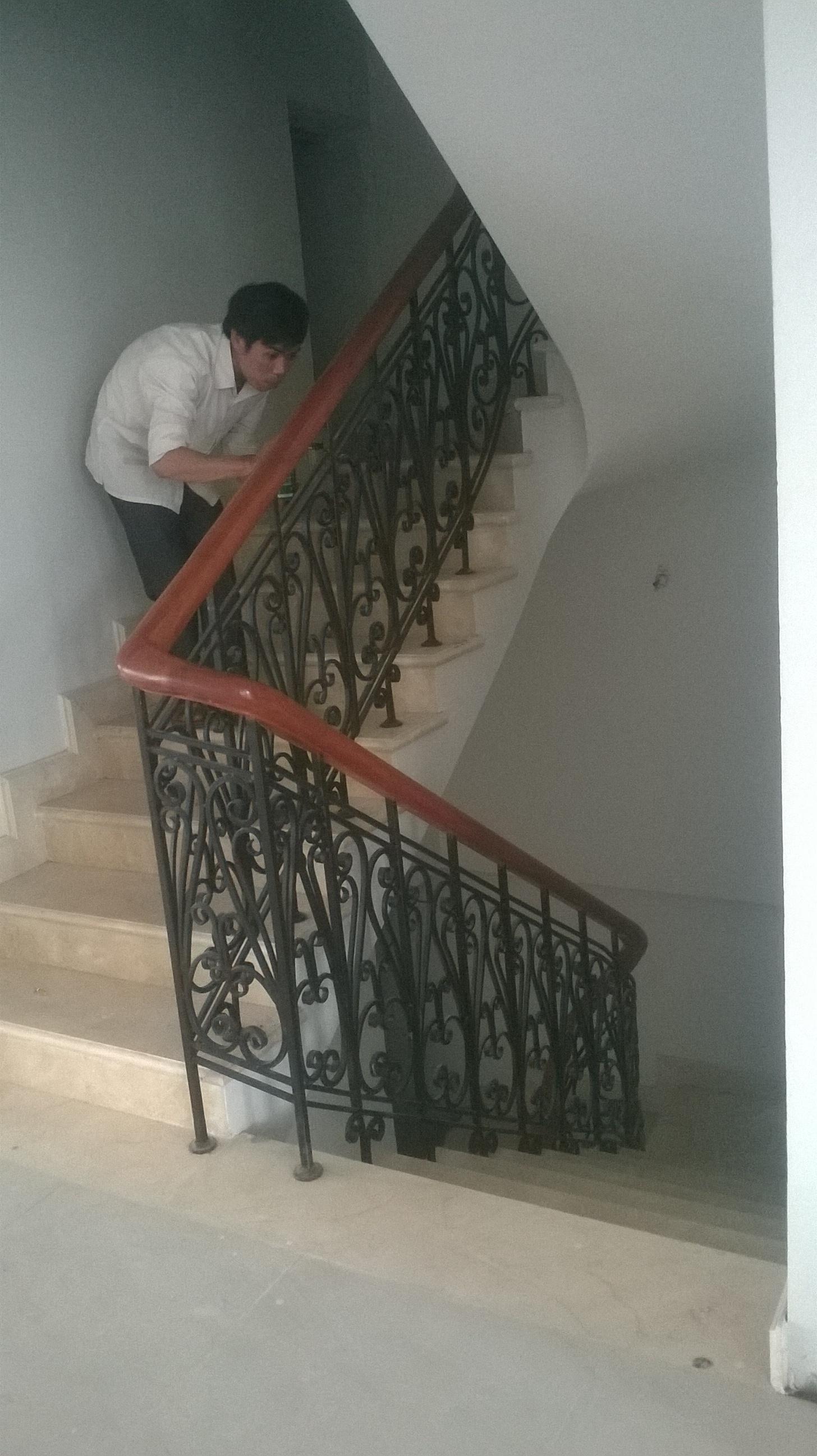 5 Cầu thang sắt nghệ thuật