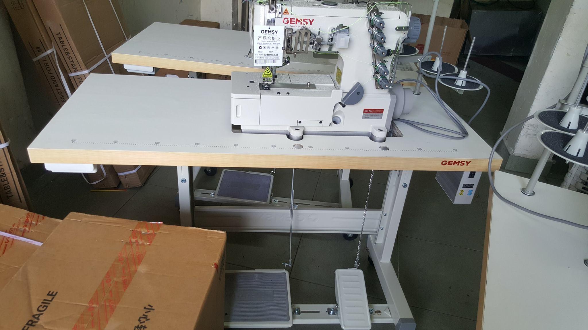 2 Máy viền đầu bằng GEM5500D-01- Công nghệ Đức