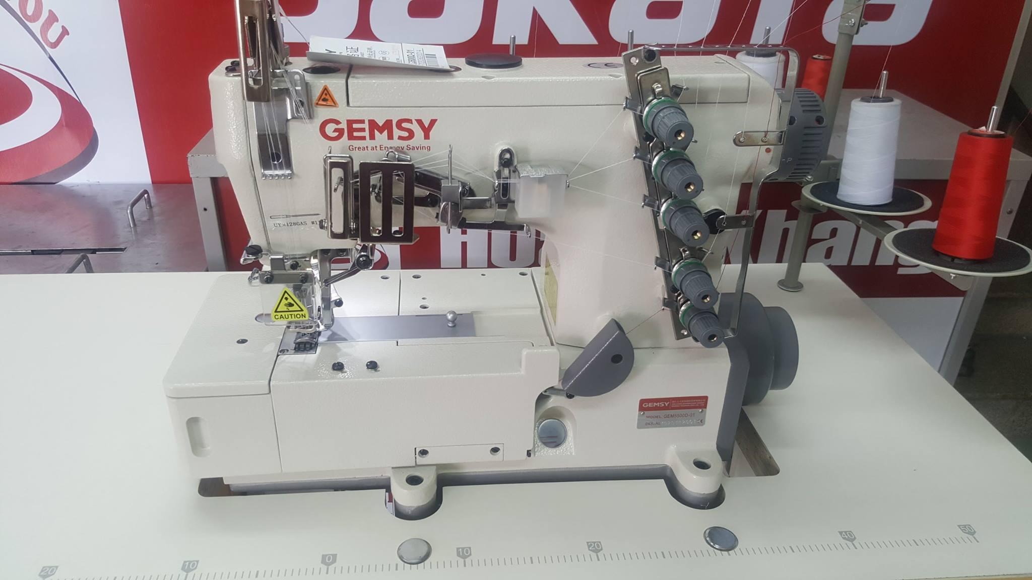 3 Máy viền đầu bằng GEM5500D-01- Công nghệ Đức