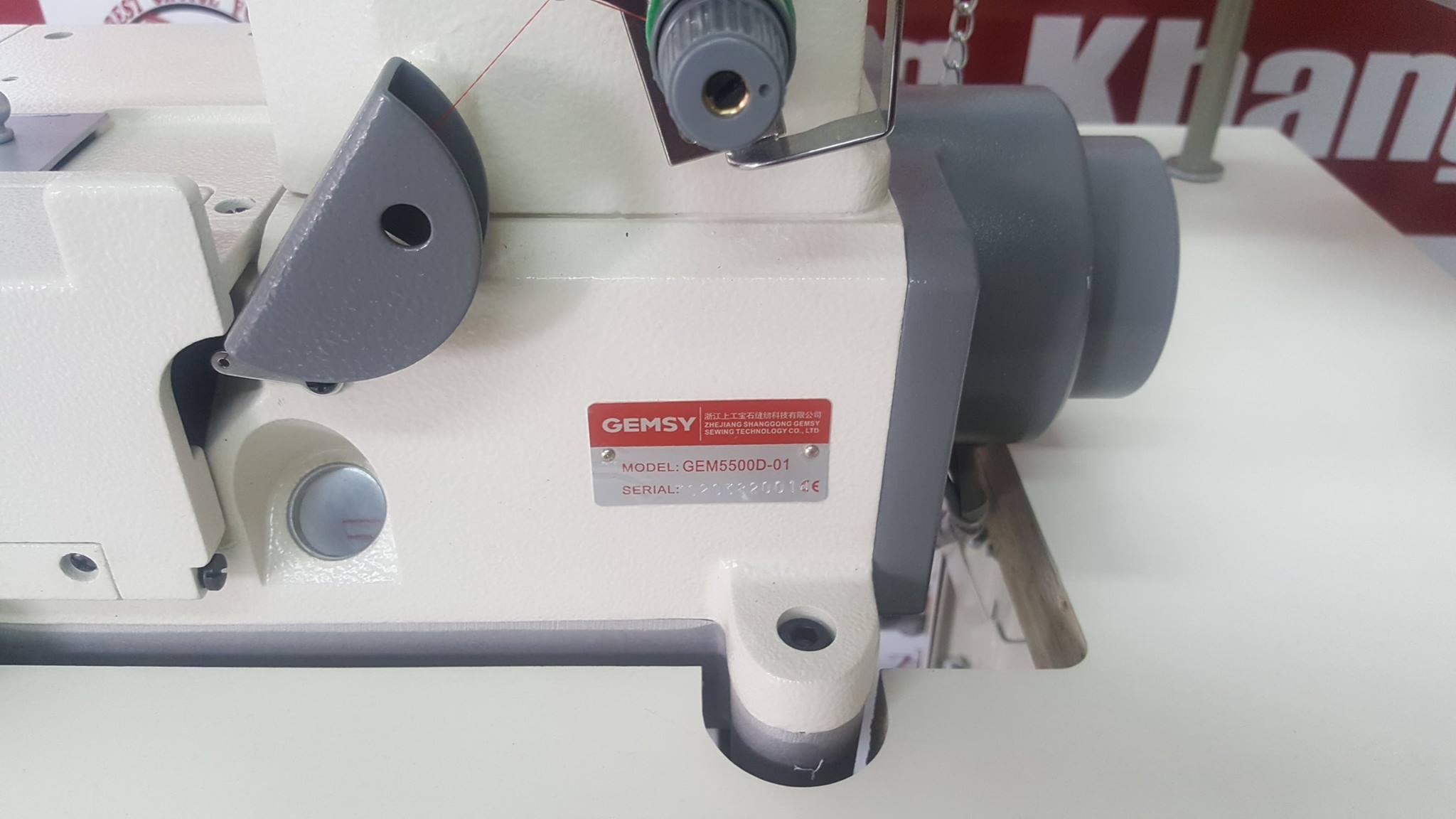 7 Máy viền đầu bằng GEM5500D-01- Công nghệ Đức