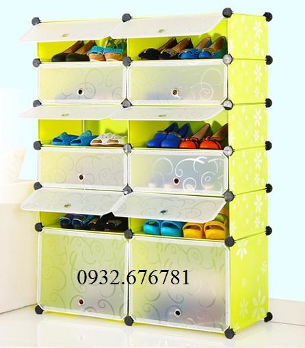 14 Tủ giày dép, tủ nhựa cho bé