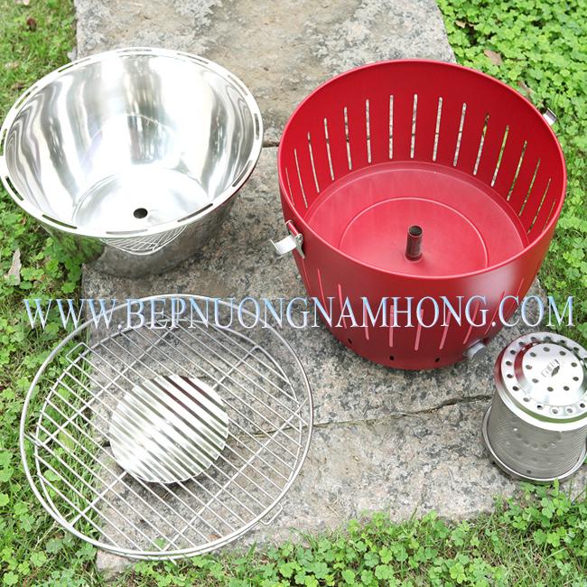 3 Bếp nướng than hoa   than củi   kiểu Nhật giá rẻ , hình thức đẹp , hiệu quả như bếp nướng Nam Hồng