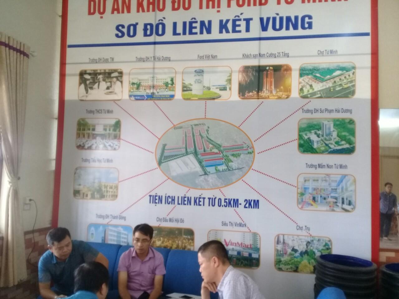 1 Bán đất Dự Án Khu đô thị Ford Tứ Minh, phường Tứ Minh, Thành phố Hải Dương