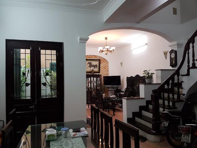 Cho thuê nhà riêng phố Trần Hưng Đạo - Hàng Bài 62m2x5T full đồ