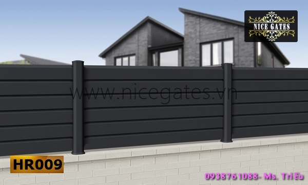 8 Tường Rào Bằng Sắt Hộp
