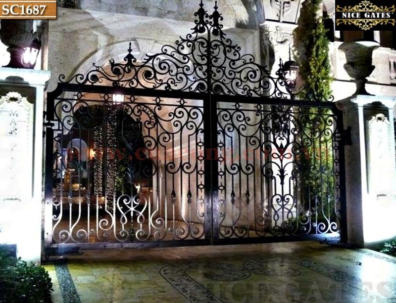 3 Cổng Rào Biệt Thự Trong Thiết Kế Kiến Trúc Cổ Điển