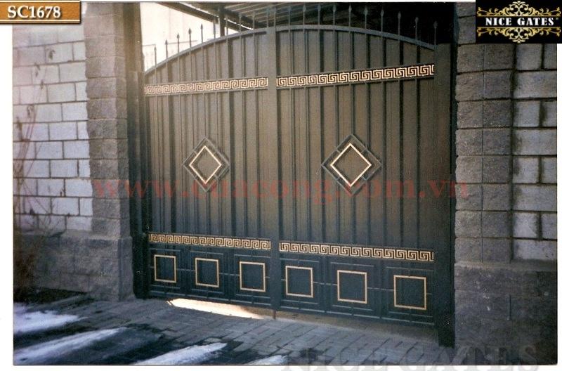 6 Cổng Rào Biệt Thự Trong Thiết Kế Kiến Trúc Cổ Điển