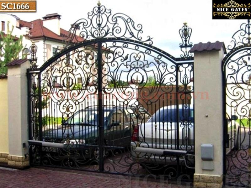 8 Cổng Rào Biệt Thự Trong Thiết Kế Kiến Trúc Cổ Điển