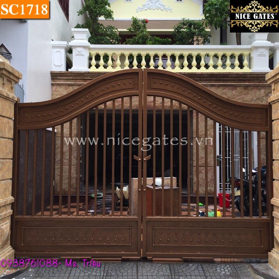 Cổng Rào Biệt Thự Trong Thiết Kế Kiến Trúc Cổ Điển