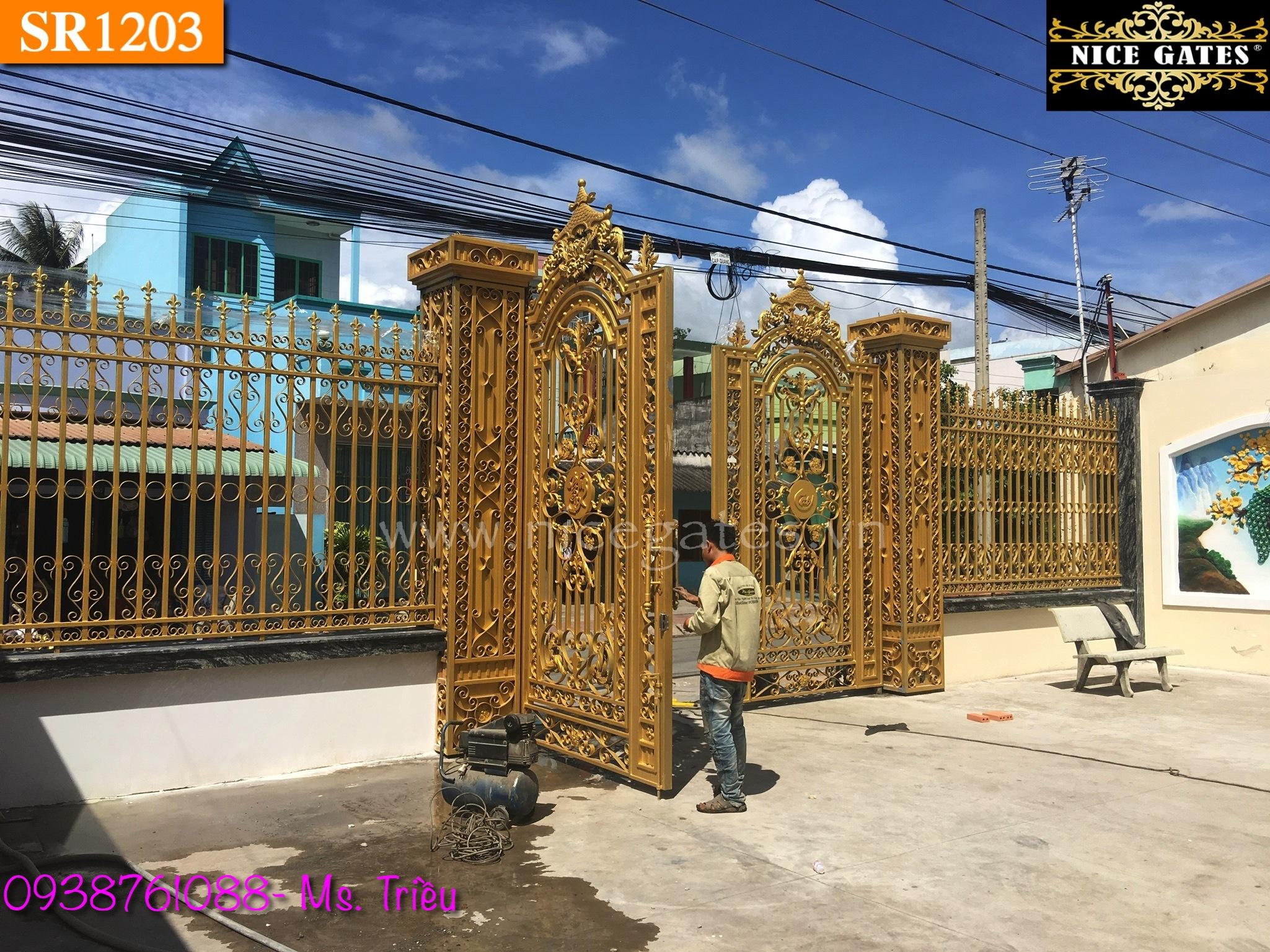 4 Cổng Rào Sắt rèn Trong Kiến Trúc Cổ Điển