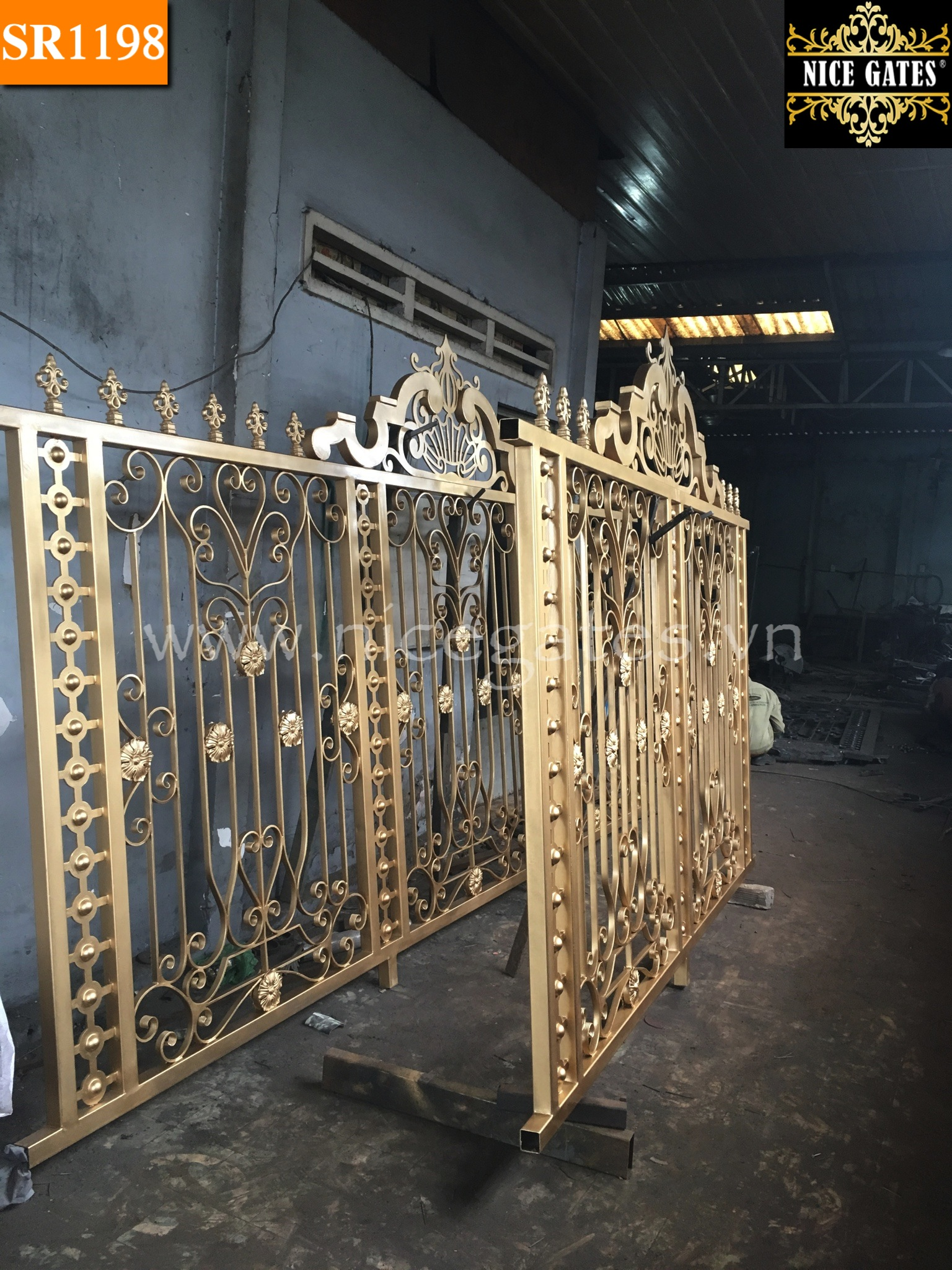 15 Cổng Rào Sắt rèn Trong Kiến Trúc Cổ Điển