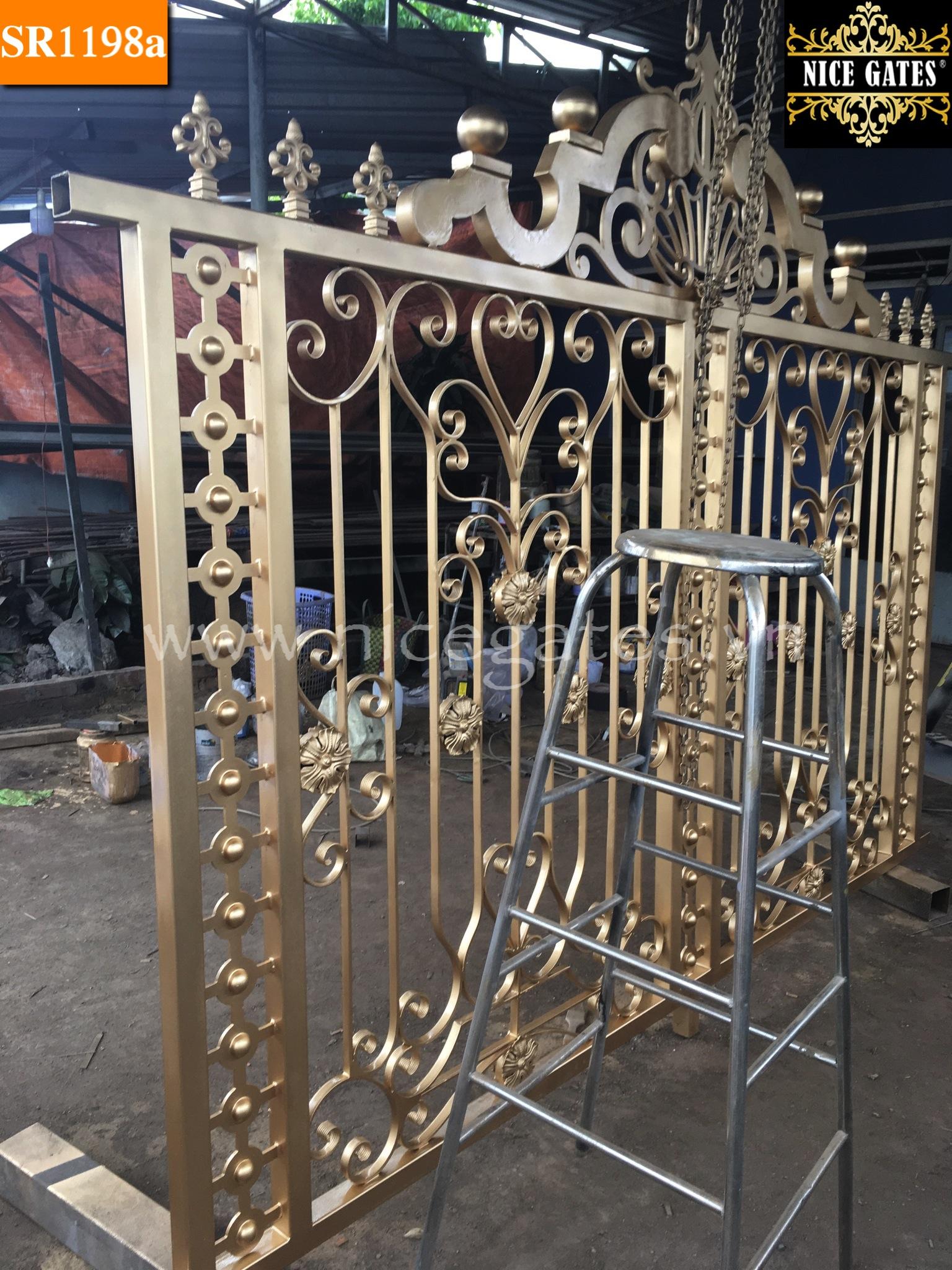 16 Cổng Rào Sắt rèn Trong Kiến Trúc Cổ Điển
