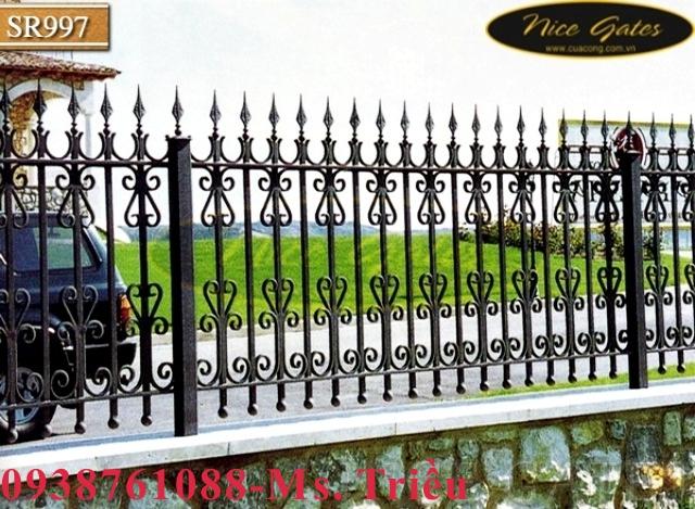 17 Cổng Rào Sắt rèn Trong Kiến Trúc Cổ Điển
