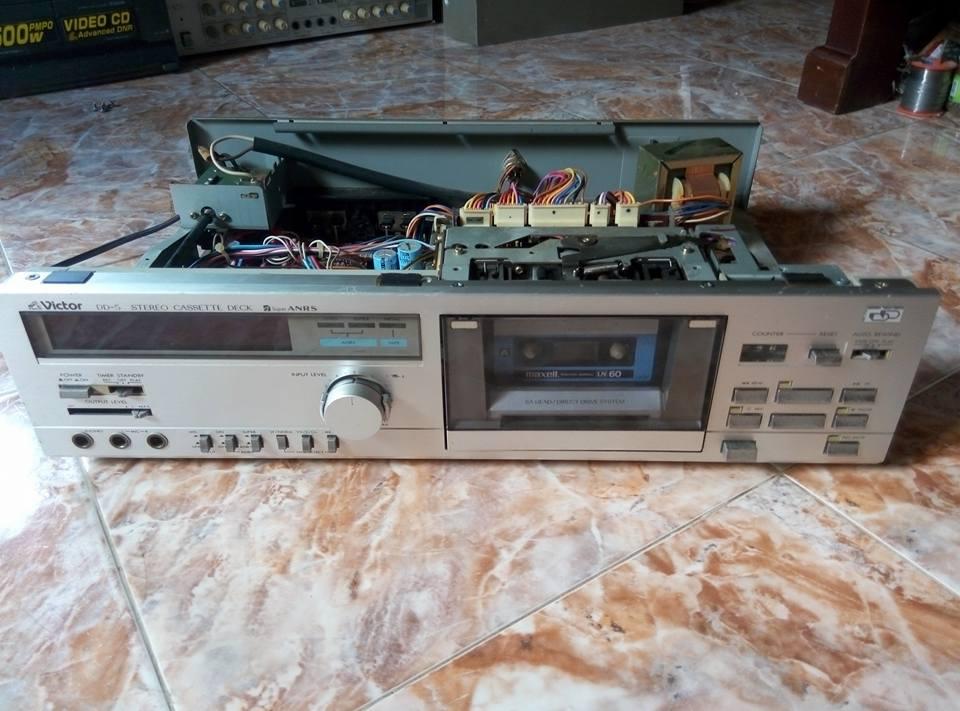 18 Cassette Deck, đầu câm Japan
