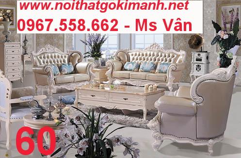 8 Sofa tân cổ điển cao cấp Cần Thơ An Giang - sofa cổ điển
