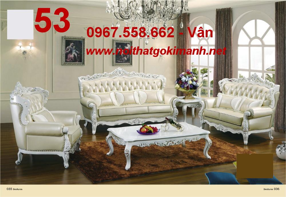 15 Ghế Sofa Cổ Điển Châu Âu - Sofa Tân Cổ Điển Phong Cách Hoàng Gia