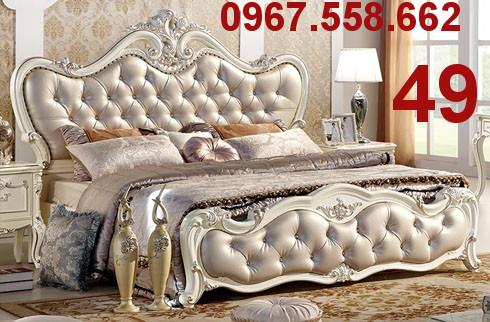 Bộ Giường Ngủ Cổ Điển Châu Âu - giường ngủ cổ điển quý tộc