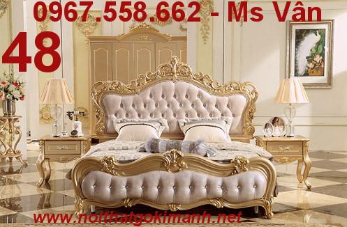 6 Bộ Giường Ngủ Cổ Điển Châu Âu - giường ngủ cổ điển quý tộc