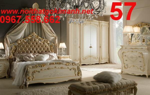 10 Bộ Giường Ngủ Cổ Điển Châu Âu - giường ngủ cổ điển quý tộc