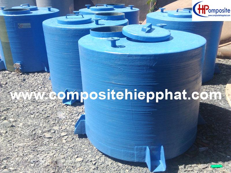 1 Bồn composite chứa hóa chất