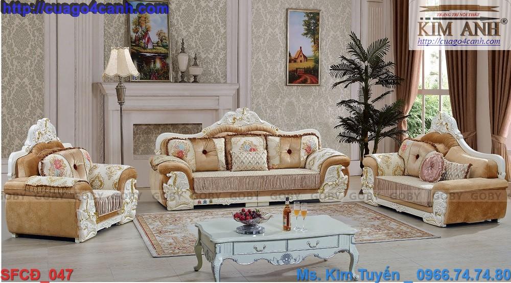 1 Giá sofa cổ điển Châu Âu rẻ tại tphcm , sofa tân cổ điển đẹp , cao cấp tại quận 7