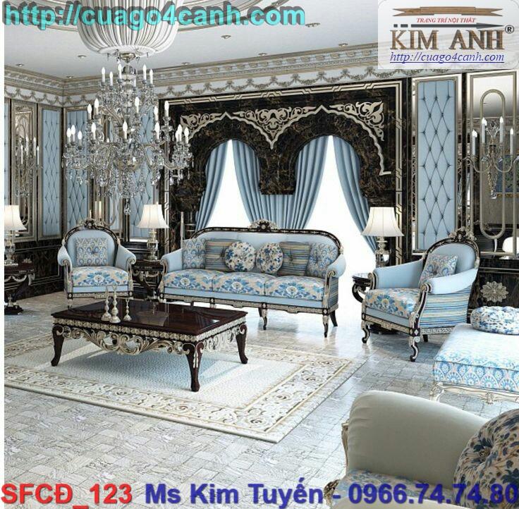 15 Giá sofa cổ điển Châu Âu rẻ tại tphcm , sofa tân cổ điển đẹp , cao cấp tại quận 7