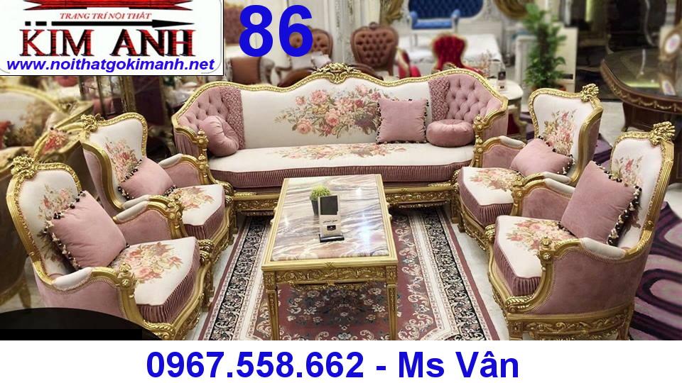 1 Sofa co dien - sofa gỗ cổ điển - sofa tân cổ điển giá rẻ