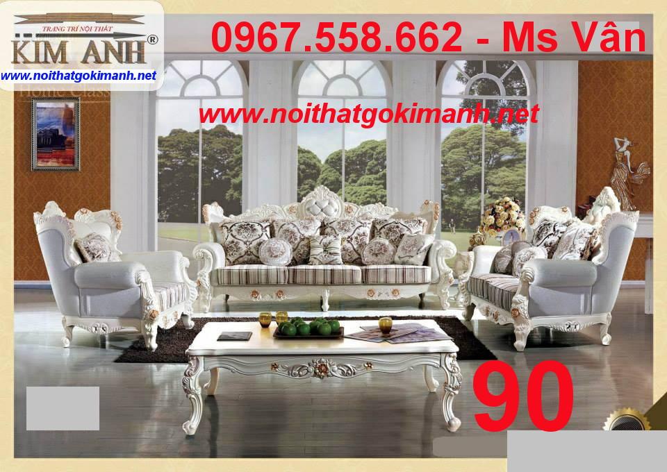 4 Sofa co dien - sofa gỗ cổ điển - sofa tân cổ điển giá rẻ